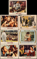 """Movie Posters:Academy Award Winners, Ben-Hur & Other Lot (MGM, 1959). Fine/Very Fine. Lobby Cards (7) (11"""" X 14""""). Academy Award Winners.. ... (Total: 7 Items)"""