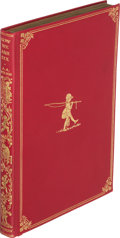 Books:Children's Books, A. A. Milne. Now We Are Six. London: Methuen & Co., [1927]. First trade edition, deluxe issue....