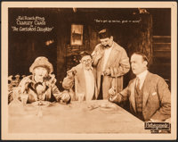 "The Caretaker's Daughter (Pathé, 1925). Very Fine. Lobby Card (11"" X 14""). Comedy"
