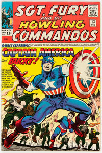 Sgt. Fury and His Howling Commandos #13 (Marvel, 1964) Condition: FN
