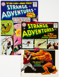Strange Adventures #180 and 184 Group (DC, 1965) Condition: Average FN.... (Total: 2)