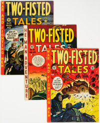 Two-Fisted Tales Group of 8 (EC, 1951-55) Condition: Average VG/FN.... (Total: 8 Comic Books)