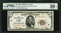Fr. 1850-H $5 1929 Federal Reserve Bank Note. PMG Very Fine 30 EPQ