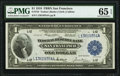 Fr. 744 $1 1918 Federal Reserve Bank Note PMG Gem Uncirculated 65 EPQ