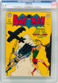 Golden Age (1938-1955):Superhero, Batman #57 (DC, 1950) CGC FN 6.0 Off-white to white pages....
