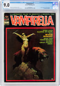 Magazines:Horror, Vampirella #7 (Warren, 1970) CGC VF/NM 9.0 White pages....