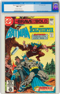 Modern Age (1980-Present):Superhero, The Brave and the Bold #171 Batman and Scalphunter (DC, 1981) CGC NM+ 9.6 Off-white to white pages....