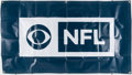 Football Collectibles:Others, 'NFL on CBCS' Banner....