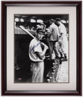 Autographs:Photos, Ted Williams Signed Framed Photograph....