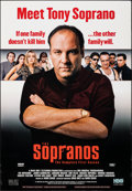 """Movie Posters:Crime, The Sopranos: The Complete First Season (HBO, 1999). Rolled, Very Fine. Video/DVD One Sheet (27"""" X 39"""") SS. Crime.. ..."""