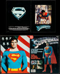 "Movie Posters:Action, Superman the Movie (Warner Bros., 1978). Very Fine-. Program (20 Pages, 8.5"" X 11"") and Magazine (64 Pages, 10.25"" X 13.25"")... (Total: 2 Items)"