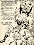 Original Comic Art:Splash Pages, Gil Kane and Dan Adkins Captain Marvel #20 Splash Page 1 Original Art (Marvel, 1970)....