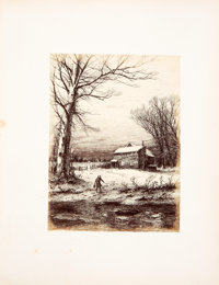 [Photography]. John Ehninger. Autograph Etchings by American Artists. Produced by a new application of Photogr