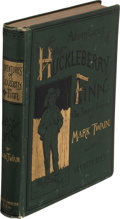 Books:Literature Pre-1900, Mark Twain. Adventures of Huckleberry Finn.(Tom Sawyer's Comrade). New York: Charles L. Webster and Company, 188...