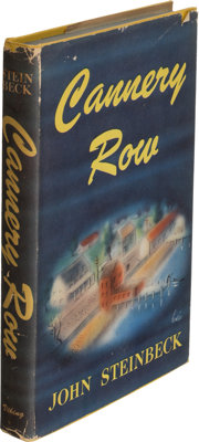 John Steinbeck. Cannery Row. New York: 1945. First edition