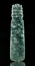 A Superb Large Jade Female Axe God Celt Pendant