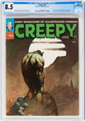 Magazines:Horror, Creepy #32 (Warren, 1970) CGC VF+ 8.5 Off-white to white pages....