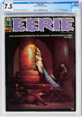 Magazines:Horror, Eerie #23 (Warren, 1969) CGC VF- 7.5 Off-white pages....