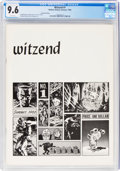 Magazines:Fanzine, Witzend #1 Second Printing (Wally Wood, 1966) CGC NM+ 9.6 White pages....