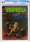 Magazines:Horror, Vampirella #5 (Warren, 1970) CGC NM+ 9.6 White pages....
