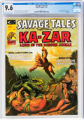 Magazines:Superhero, Savage Tales #11 (Marvel, 1975) CGC NM+ 9.6 Off-white to white pages....