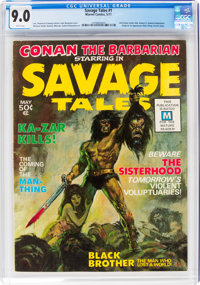 Savage Tales #1 (Marvel, 1971) CGC VF/NM 9.0 White pages