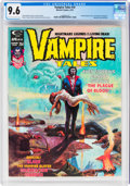 Magazines:Horror, Vampire Tales #10 (Marvel, 1975) CGC NM+ 9.6 Off-white to white pages....