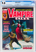 Magazines:Horror, Vampire Tales #4 (Marvel, 1974) CGC NM/MT 9.8 Off-white to white pages....