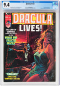 Magazines:Horror, Dracula Lives! #9 (Marvel, 1974) CGC NM 9.4 Off-white to w...