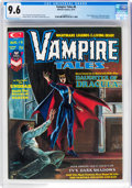 Magazines:Horror, Vampire Tales #6 (Marvel, 1974) CGC NM+ 9.6 Off-white to white pages....
