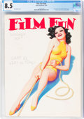 Magazines:Vintage, Film Fun #545 September, 1934 (Dell, 1934) CGC VF+ 8.5 White pages....