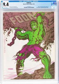 Foom #2 (Marvel, 1973) CGC NM 9.4 White pages
