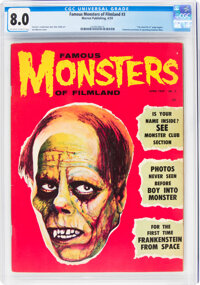 Famous Monsters of Filmland #3 (Warren, 1959) CGC VF 8.0 Off-white to white pages