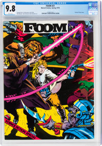 Foom #21 (Marvel, 1978) CGC NM/MT 9.8 White pages
