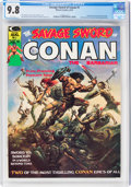 Magazines:Adventure, Savage Sword of Conan #1 (Marvel, 1974) CGC NM/MT 9.8 White pages....