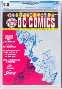 Amazing World of DC Comics #1 (DC, 1974) CGC NM/MT 9.8 White pages