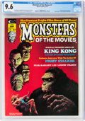 Monsters of the Movies #1 (Marvel, 1974) CGC NM+ 9.6 White pages