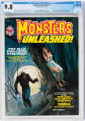 Magazines:Horror, Monsters Unleashed #1 (Marvel, 1973) CGC NM/MT 9.8 White p...