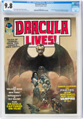 Magazines:Horror, Dracula Lives! #1 (Marvel, 1973) CGC NM/MT 9.8 White pages...