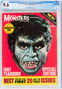 Famous Monsters of Filmland Yearbook 1967 (Warren, 1967) CGC NM+ 9.6 Off-white to white pages