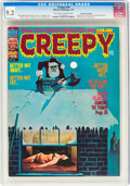 Magazines:Horror, Creepy #59 Don Rosa Collection (Warren, 1974) CGC NM- 9.2 Off-white to white pages....