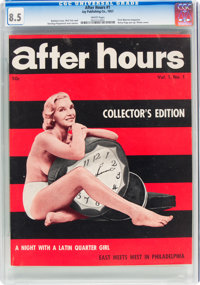 After Hours #1 (Jay Publishing Co., 1957) CGC VF+ 8.5 White pages