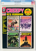 Magazines:Horror, Creepy Yearbook 1970 Don Rosa Collection (Warren, 1970) CGC NM- 9.2 Off-white to white pages....