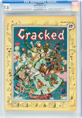 Magazines:Humor, Cracked #1 (All-American, 1958) CGC VF- 7.5 Off-white to w...
