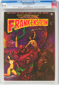 Castle of Frankenstein #23 (Gothic Castle Printing, 1974) CGC NM 9.4 White pages