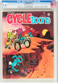 Magazines:Humor, Cycletoons #1 (Petersen Publishing Co., 1968) CGC FN/VF 7.0 Off-white to white pages....