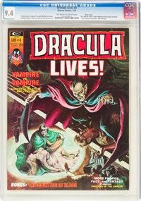 Dracula Lives! #4 Massachusetts Copy Pedigree (Marvel, 1974) CGC NM 9.4 Off-white to white pages