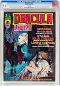 Magazines:Horror, Dracula Lives! #5 (Marvel, 1974) CGC NM+ 9.6 White pages....
