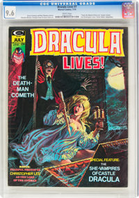Dracula Lives! #7 (Marvel, 1974) CGC NM+ 9.6 White pages