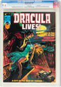 Magazines:Horror, Dracula Lives! #10 Massachusetts Copy Pedigree (Marvel, 19...